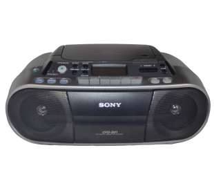 Sony radio K7 CD portable