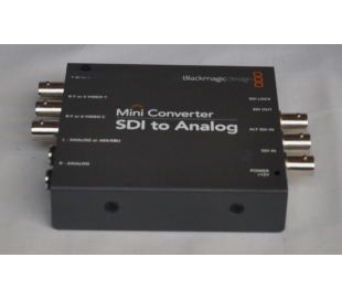 Converter SDI to Analog