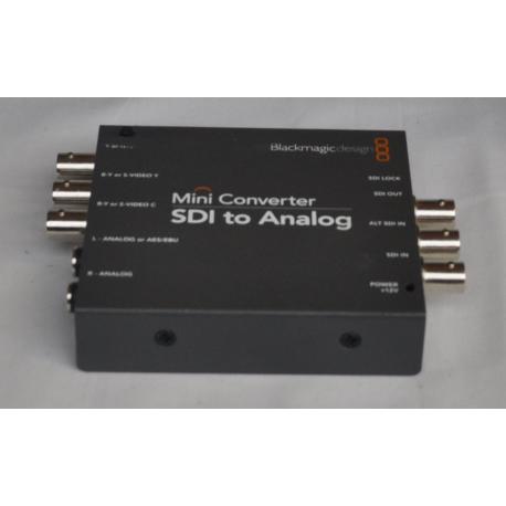 Converter SDI to Analog