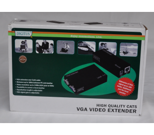 VGA video extender via cable CAT5