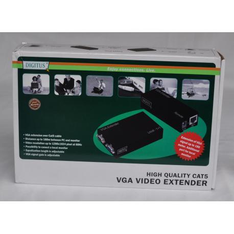 VGA video extender CAT5 Digitus