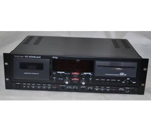 Tascam CC 222SL MKII Combi K7 CD-RW