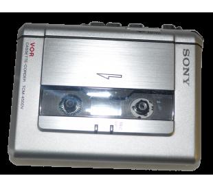 Enregistreur K7 reportage Sony