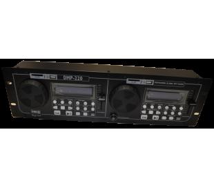 """Double lecteur MP3 19"""" DMP220"""