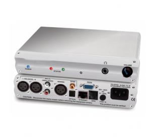 Codec stéréo pour FM DAB l&r balancés / aes-ebu  spdif optique/ gpio