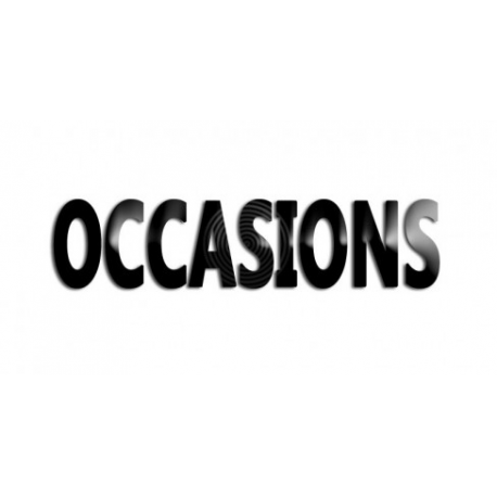 Liste de nos équipements d'occasions