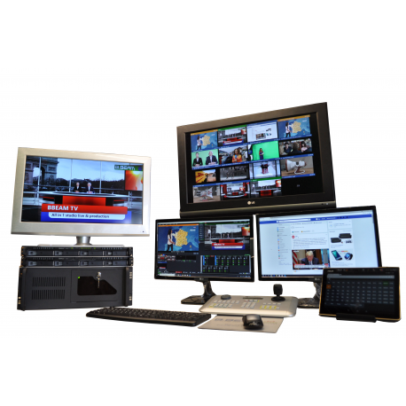 All in 1 studio tv Live & production solutions (LPS)