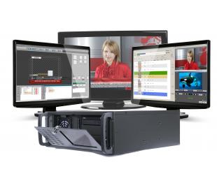 Station d'automation tv hd/sd gestion graphique et playout