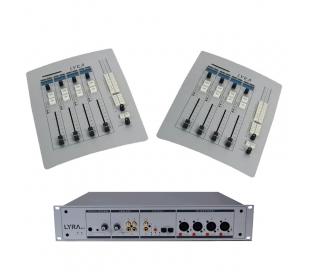 Table de mixage radio Lyra numérique