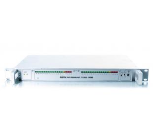 Codeur stéréo digital fm  audio l & r + entrées digitales s-pdif et optique