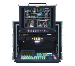 Solution complète portative studio vidéo 8 canaux