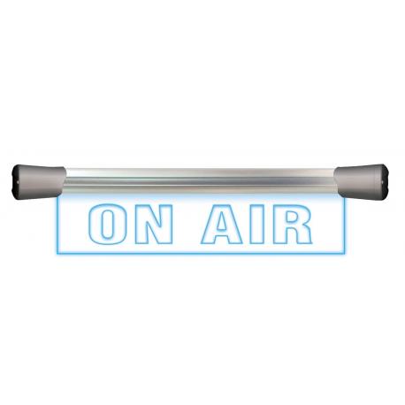 Périphérique d'affichage de studio led/plexi ''on air - mic live''