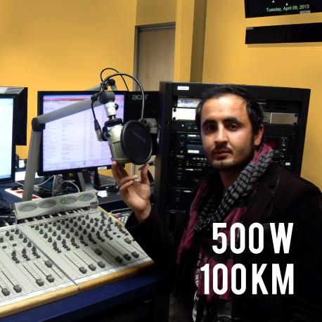 RADIO FM ECO 500W COMPACT