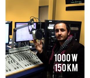 Radio FM 1000w tropicalisé - 150km