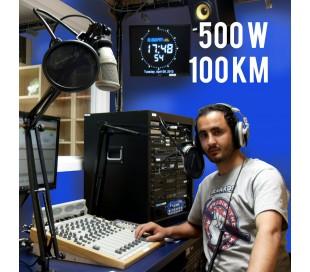 Radio FM 500w compact - 100km