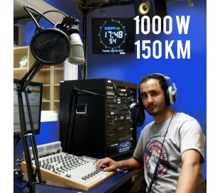 Radio FM 1000w compact - 150km