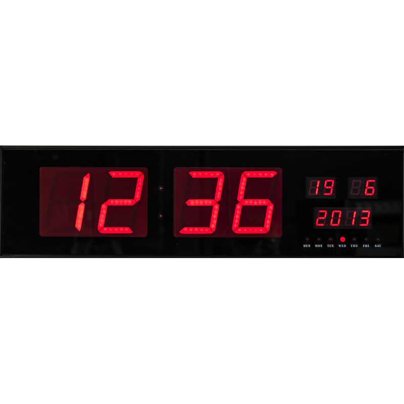 Horloge led horloge led bleues rc achat vente horloge plastique horloge horloge led bleue 30 - Horloge orium led bleue ...