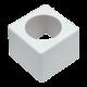 Support logo pour micro de reportage