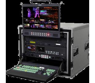 Solution complète portative studio vidéo 12 canaux