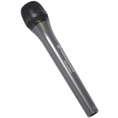 Microphone dynamique de reportage omnidirectionnel sennheiser