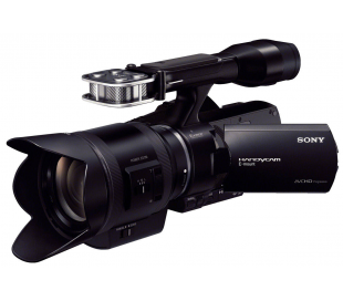 Caméscope pro full hd de reportage & zoom sel 18/200