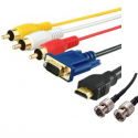 Video cable and connector
