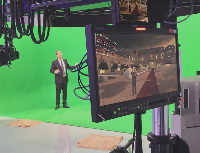 Matériel pour créer une chaîne TV VHF UHV DVBT Web TV